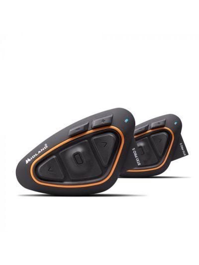Midland BTX1 Pro S bluetooth interkom komunikacijska naprava z FM sprejemnikom | set
