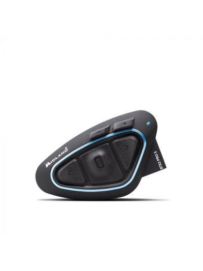 Midland BTX2 Pro S bluetooth interkom komunikacijska naprava z FM sprejemnikom