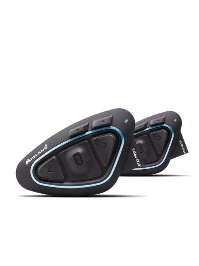 Midland BTX2 Pro S bluetooth interkom komunikacijska naprava z FM sprejemnikom | set