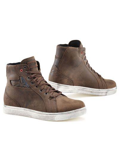 TCX STREET ACE WP motoristični čevlji - dakar rjavi