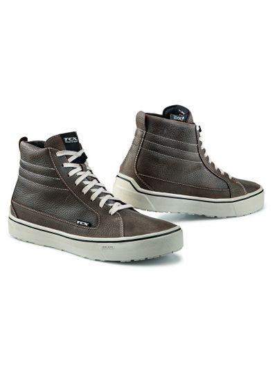 Motoristični čevlji TCX Street 3 WP - rjavi