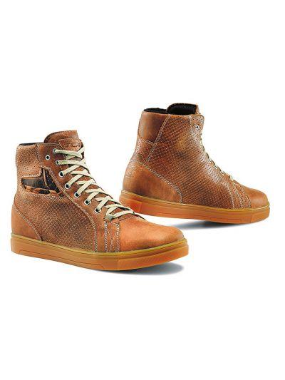 Casual motoristični čevlji TCX Street Ace Air - naravno usnje