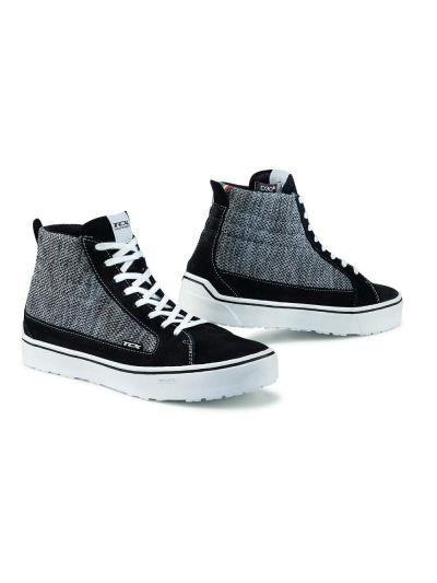 Motoristični čevlji TCX Street 3 Air - črni / sivi