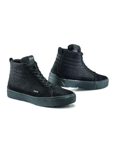 Motoristični čevlji TCX Street 3 Air - črni