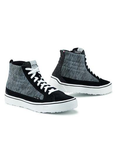 Ženski motoristični čevlji TCX Street 3 Air Lady - črni / sivi