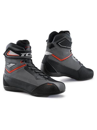 Motoristični casual čevlji TCX RUSH 2 AIR - sivi / rdeči