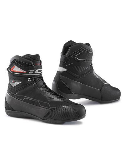 Motoristični casual čevlji TCX RUSH 2 WP vodoodporni - črni