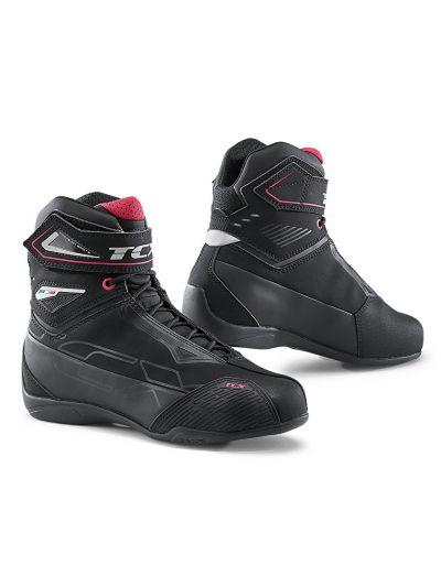 Ženski casual motoristični čevlji TCX Rush 2 Lady WP vodoodporni - črni / roza