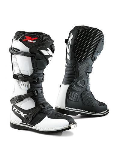 TCX X-BLAST motoristični off-road škornji - beli