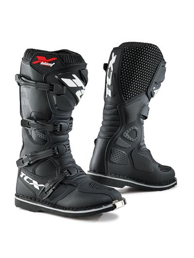 Motoristični off-road škornji TCX X-BLAST - črni