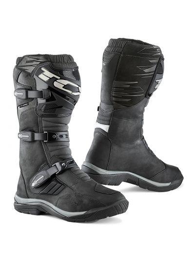 TCX BAJA WP Motoristični vodoodporni škornji - črni