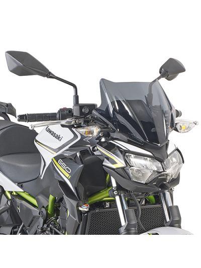 GIVI 4128S zatemnjen vizir za Kawasaki Z650 (2020 - )