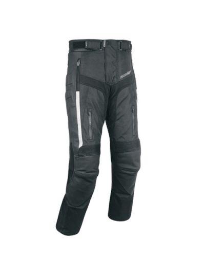 Motoristične hlače tekstilne ATROX CE 2600 - črne