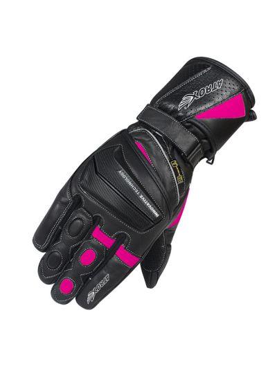 Ženske motoristične usnjene rokavice ATROX 4311