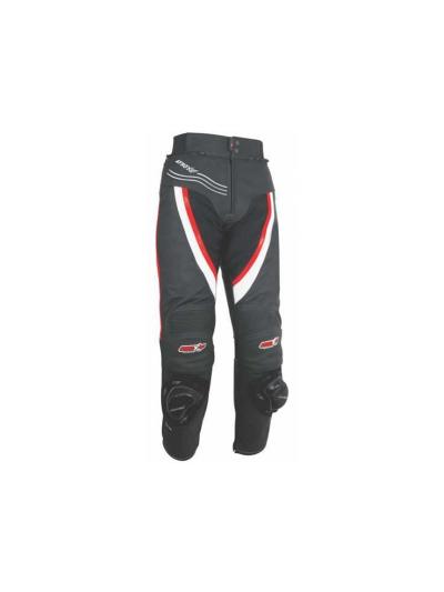 ATROX moške motoristične hlače črna/rdeča