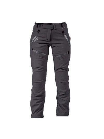 ATROX Soft-Shell ženske tekstilne motoristične hlače - črne
