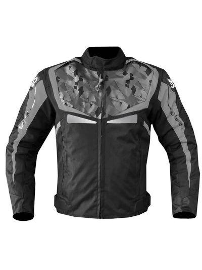 Tekstilna jakna Berik 2.0 TECHNICAL CAMO WP