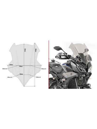 GIVI D2139S zatemnjen vizir za Yamaha Tracer 900 / Tracer 900 GT (2018 - 2020)