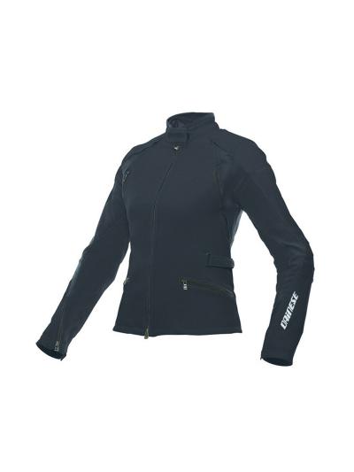 Ženska tekstilna motoristična jakna Dainese ARYA Lady - črna