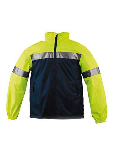 Dežna jakna WOWOW Reflective RW840 za motoriste in kolesarje