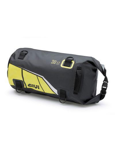 GIVI EA114 vodoodporna torba za zadek motorja - črna/rumena | 30 L