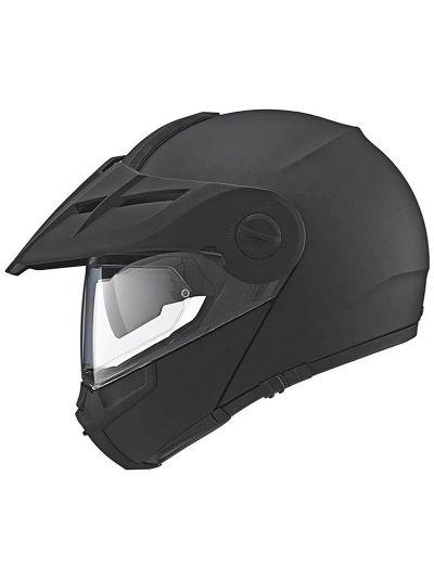 SCHUBERTH E1 motoristična enduro preklopna čelada - mat črna