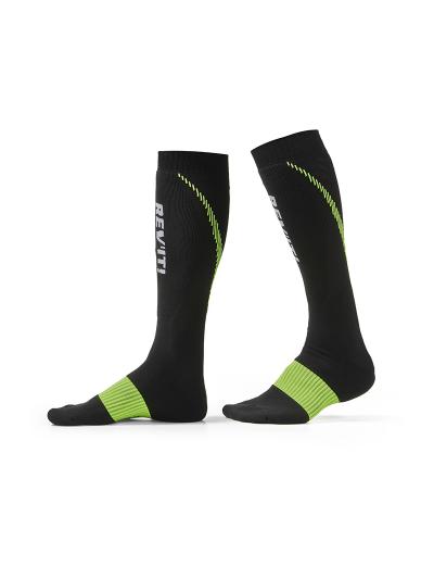 REV'IT TRIDENT motoristične nogavice - črne/rumene