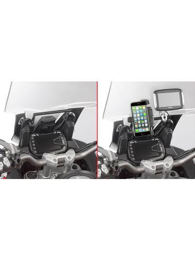 GIVI FB7408 nosilna palica za namestitev GPS naprave ali telefona za Ducati Multistrada 950/1200/1260