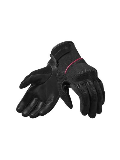 REV'IT MOSCA LADIES Ženske motoristične rokavice - črne/roza