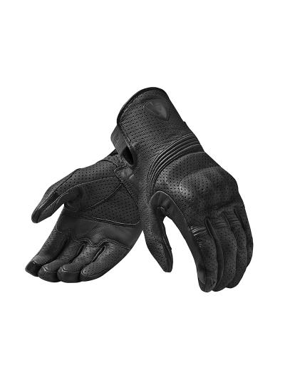 REV'IT FLY 3 motoristične usnjene rokavice - črne