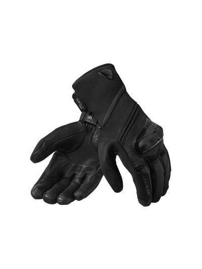 Rev'it SIRIUS 2 H2O moške motoristične vodoodporne rokavice - črne