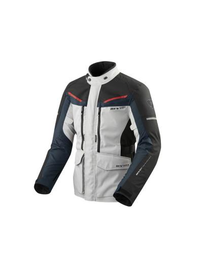 Motoristična tekstilna jakna Rev'it SAFARI 3 - siva/modra