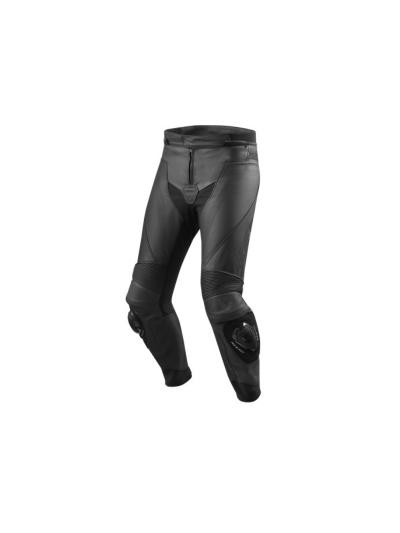 REV'IT VERTEX GT usnjene motoristične hlače - črne