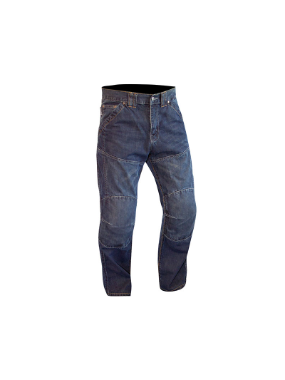 RouteOne HUNTSMAN WP motoristične jeans hlače - skrajšane