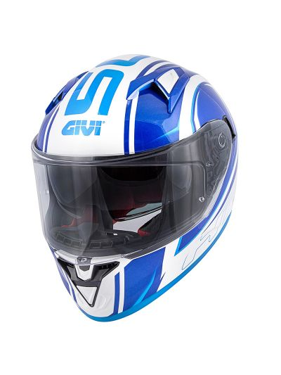 GIVI 50.6 STOCCARDA BLADES integralna motoristična čelada - bela / modra