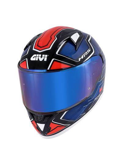 GIVI 50.6 SPORT DEEP integralna motoristična čelada - modra / rdeča