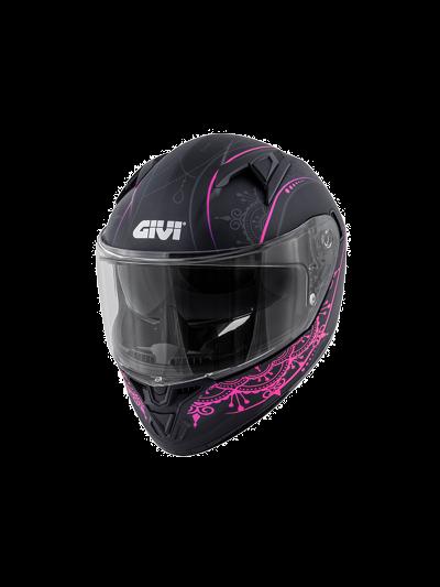 GIVI 50.6 STOCCARDA MENDHI integralna motoristična čelada - črna/pink