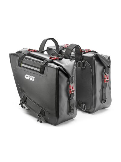 GIVI GRT718 Gravel-T stranski torbi | 2 x 15 l
