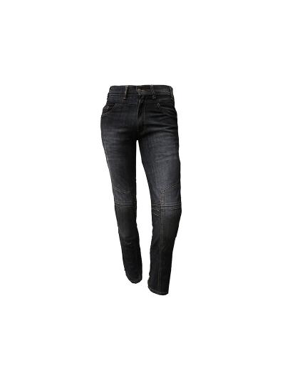 HERO RIDER1 motoristične jeans hlače - črne