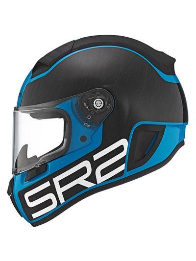 Motoristična čelada SCHUBERTH SR2 Pilot Blue modra