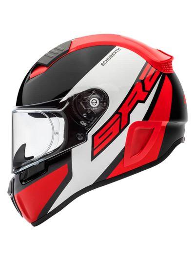 Motoristična čelada SCHUBERTH SR2 WILDCARD - rdeča