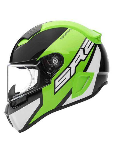 Motoristična čelada SCHUBERTH SR2 WILDCARD - zelena
