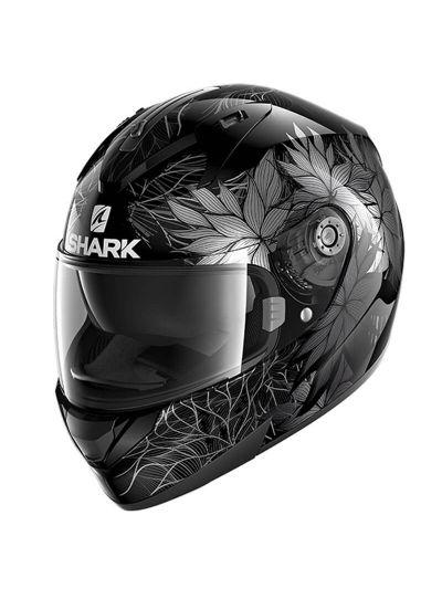 SHARK RIDILL 1.2 NELUM motoristična integralna čelada - črna/siva