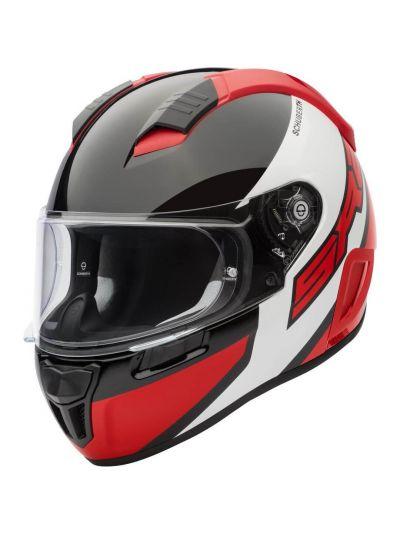 Motoristična čelada SCHUBERTH SR2 WILDCARD rdeča