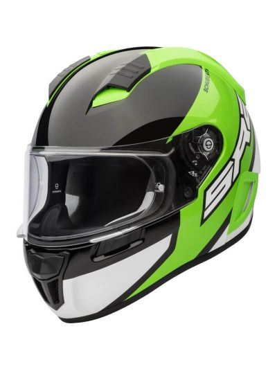Motoristična čelada SCHUBERTH SR2 WILDCARD zelena