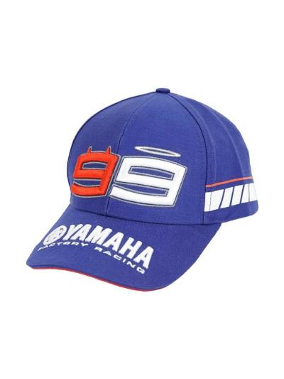 Kapa s šiltom Jorge Lorenzo 99 Yamaha - modra