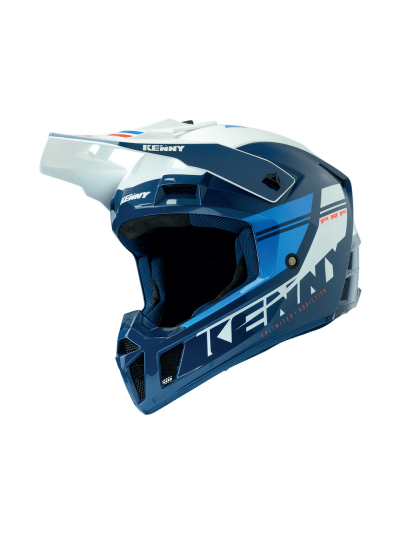 Motokros off-road čelada Kenny Racing PERFORMANCE Blue Candy Navy