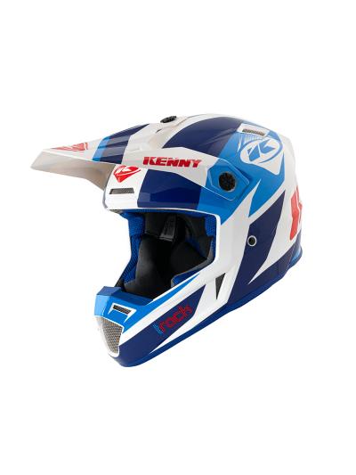 Motoristična kros čelada Kenny Racing TRACK VICTORY Patriot