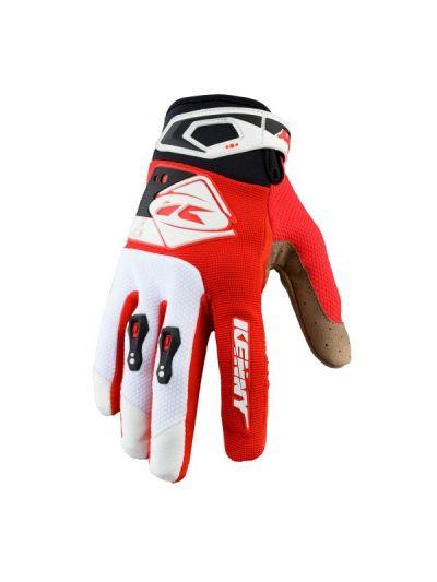 KENNY RACING TRACK KID otroške motoristične cross rokavice - rdeča/črna