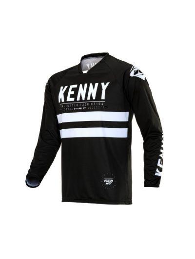 Kenny Racing PERFORMANCE Unlimited motoristična cross majica - črna